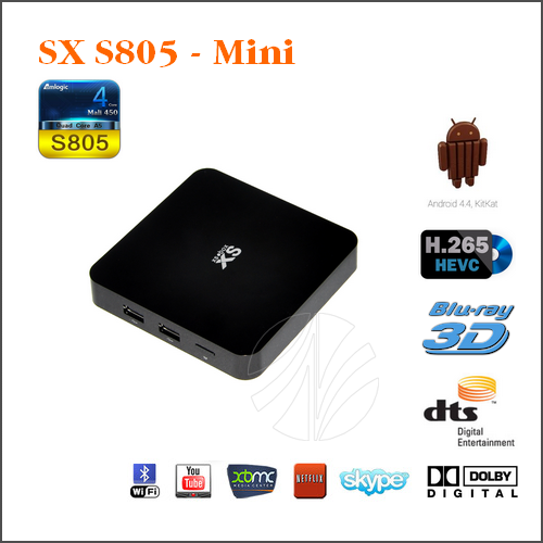 SX Mini - Amlogic S805 Quad Core