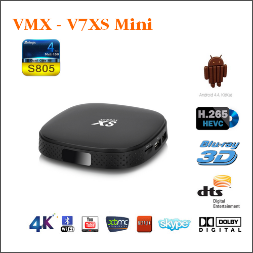 VMX-V7XS Mini - Amlogic S805 Quad Core