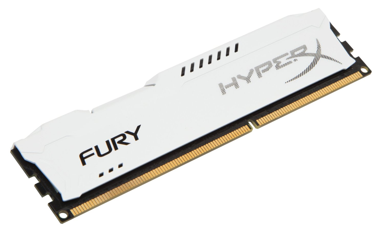 Ram Kingston 4G 1600MHZ DDR3 CL10 Dimm HyperX Fury White