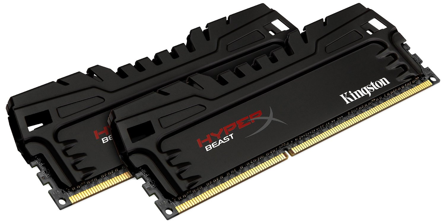 ram Kingston 16GB 1600MHz DDR3 Non-ECC CL9 DIMM (Kit of 2) XMP Beast Series
