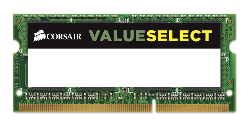 Ram Corsair DDR3 8GB bus 1333 - CMSO8GX3M1A1333C9