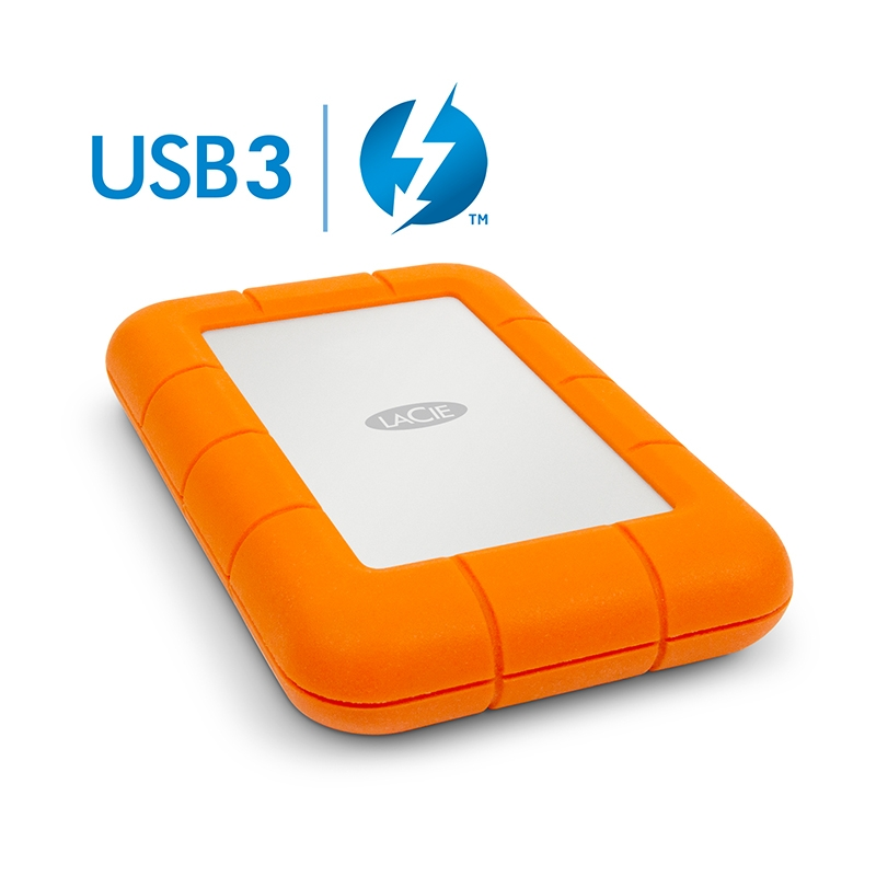 LACIE 2TB HDD Rugged - Thunderbolt, USB 3.0