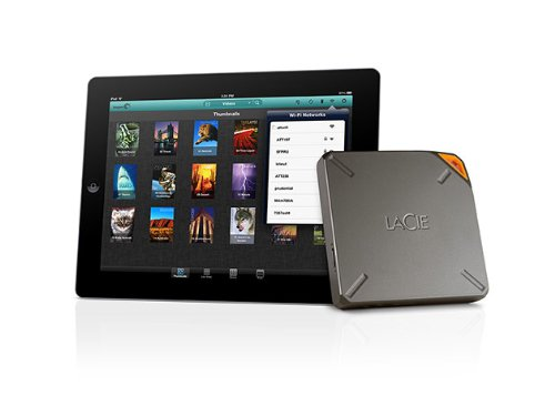 HDD Lacie Fuel 1TB Wireless Storage - Wi-Fi 802.11 b/g/n, USB 3.0