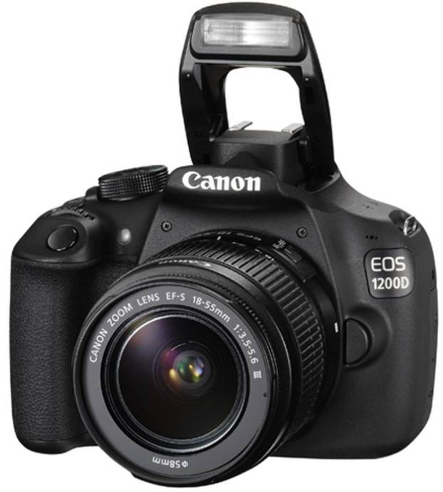 Canon EOS 1200D với ống kính 18-55mm IS II