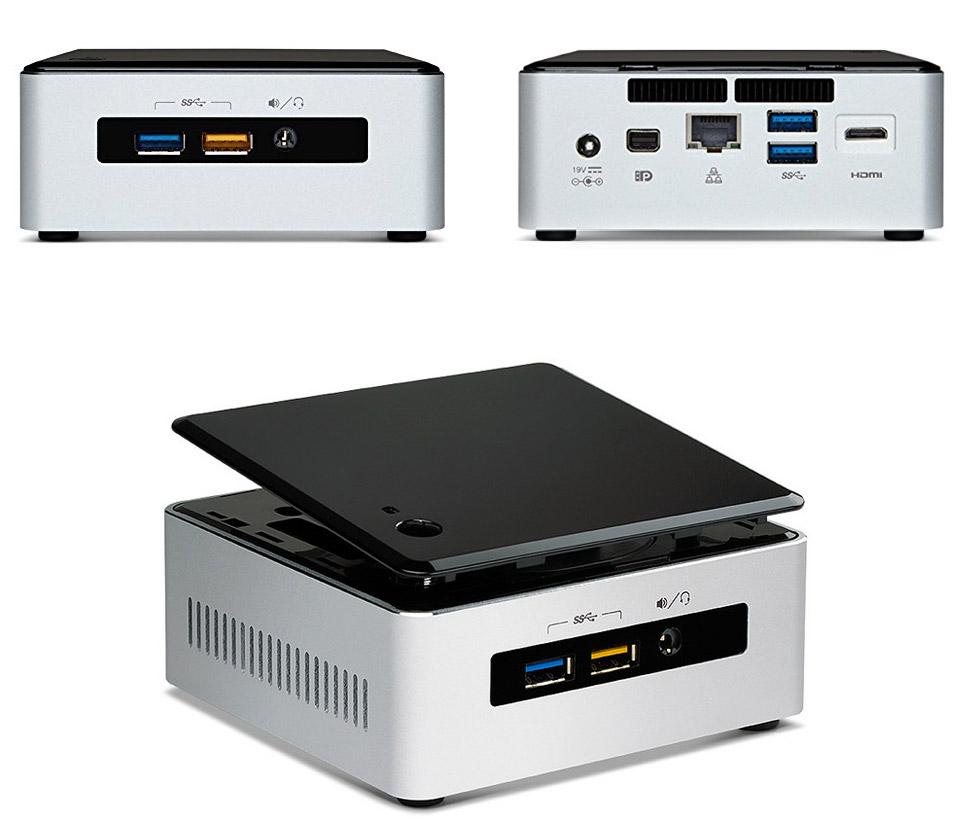 PC Intel NUC Kit BOXNUC5I3RYH core i3 tích hợp sẵn Wifi
