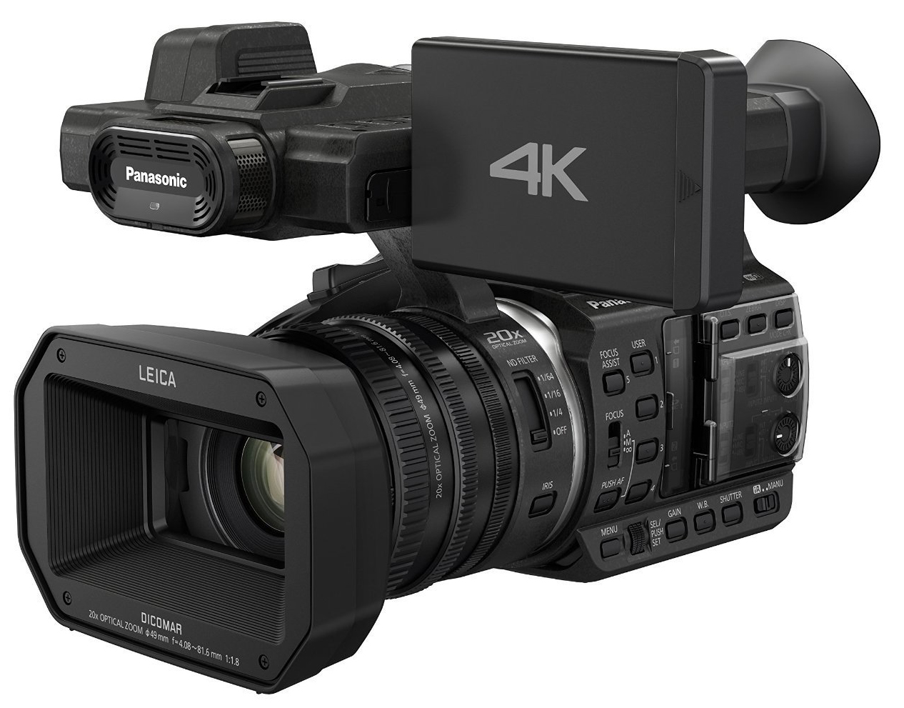 Panasonic HC-X1000 4K - Made in Japan