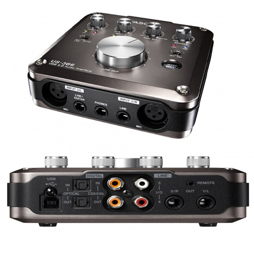 Card Sound thu âm TASCAM US-366 USB 2.0