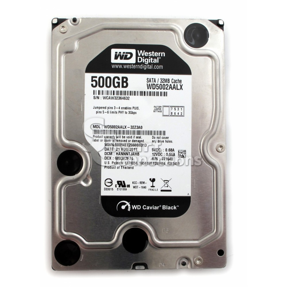 Ổ cứng Western Digital Caviar Black 500GB 64MB
