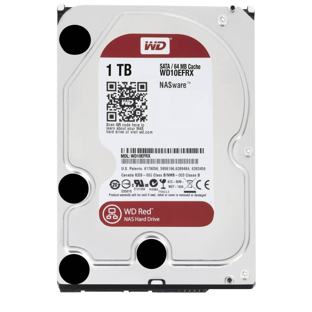 Ổ cứng WD HDD Caviar Red 1TB 3.5'' SATA 3/ 64MB Cache