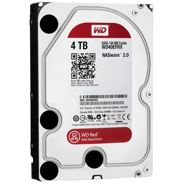 Ổ cứng WD HDD Caviar Red 4TB 3.5'' SATA 3/ 64MB Cache/ IntelliPower