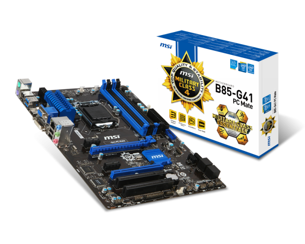 MAINBOARD MSI B85-G41 PC MATE (ATX Heatsink)
