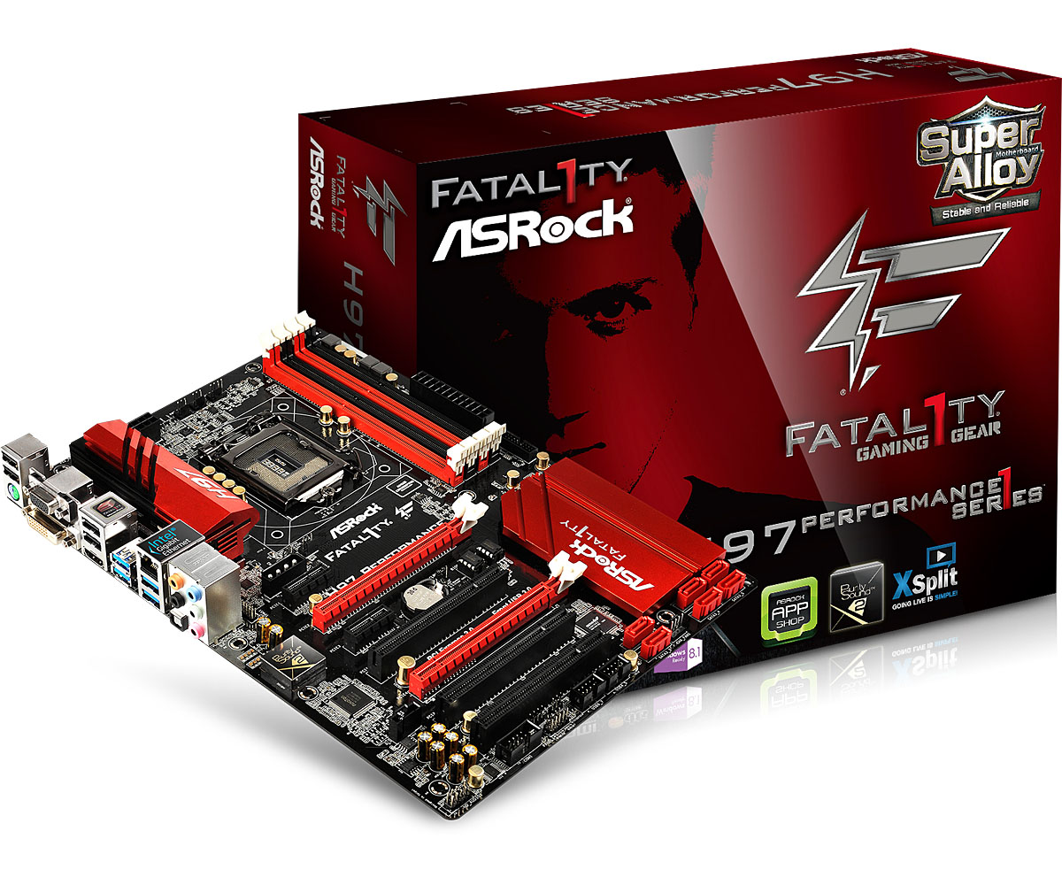 Main ASRock H97 Performance (Fatal1ty Series for Gaming)