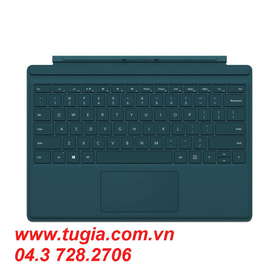 MICROSOFT SURFACE PRO 4 TYPE COVER (Teal)