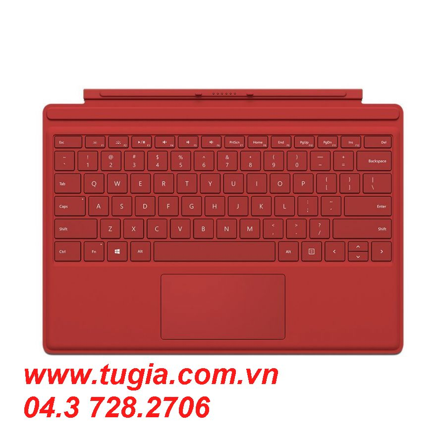 MICROSOFT SURFACE PRO 4 TYPE COVER (Red)