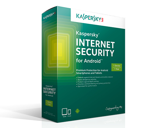 Phần mềm diệt vius Kaspersky Internet Security cho Android