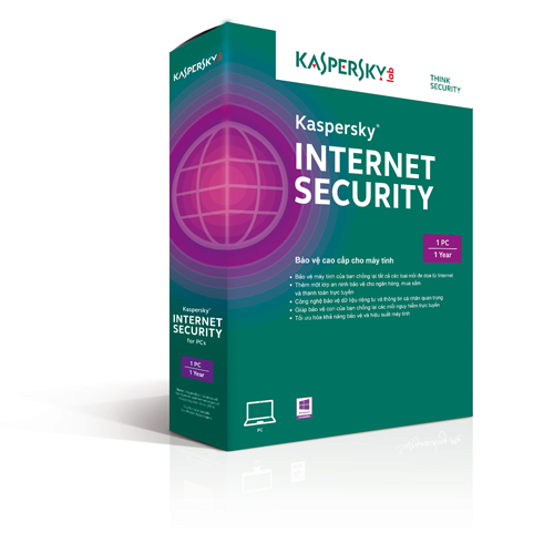 Phần mềm diệt virus Kaspersky Internet Security 2015 (3 User)