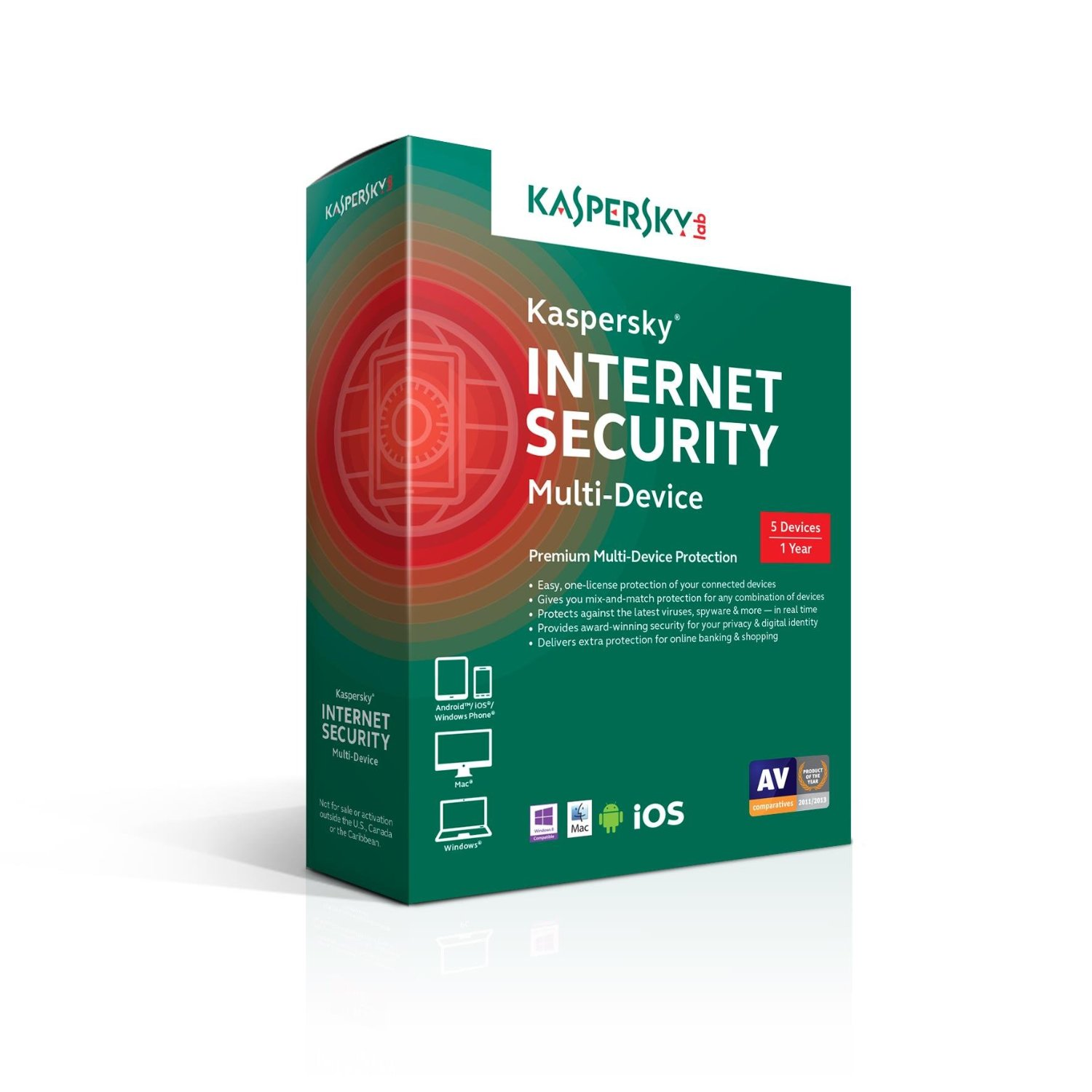 Phần mềm diệt vius Kaspersky Internet Security Multi-Device