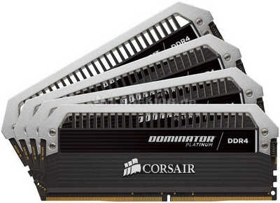 Ram Corsair DDR4 (4 X 8GB) 32G bus 2800 - CMD32GX4M4A2800C16 - Dominator Platinum with airflow