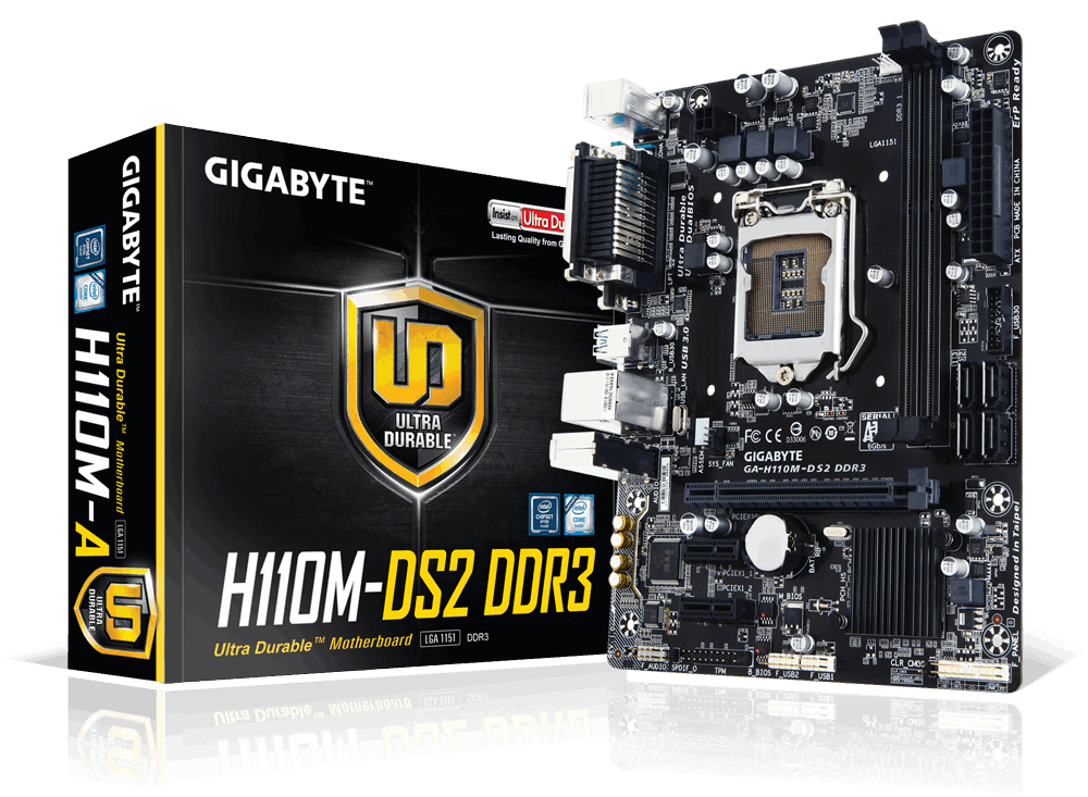 MAIN GIGABYTE™ GA-H110M-DS2 DDR3