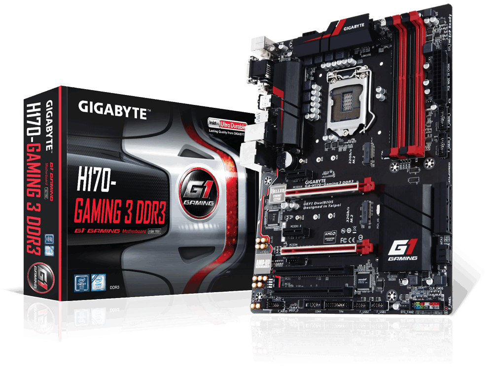 MAIN GIGABYTE™ GA-H170-Gaming 3 DDR4