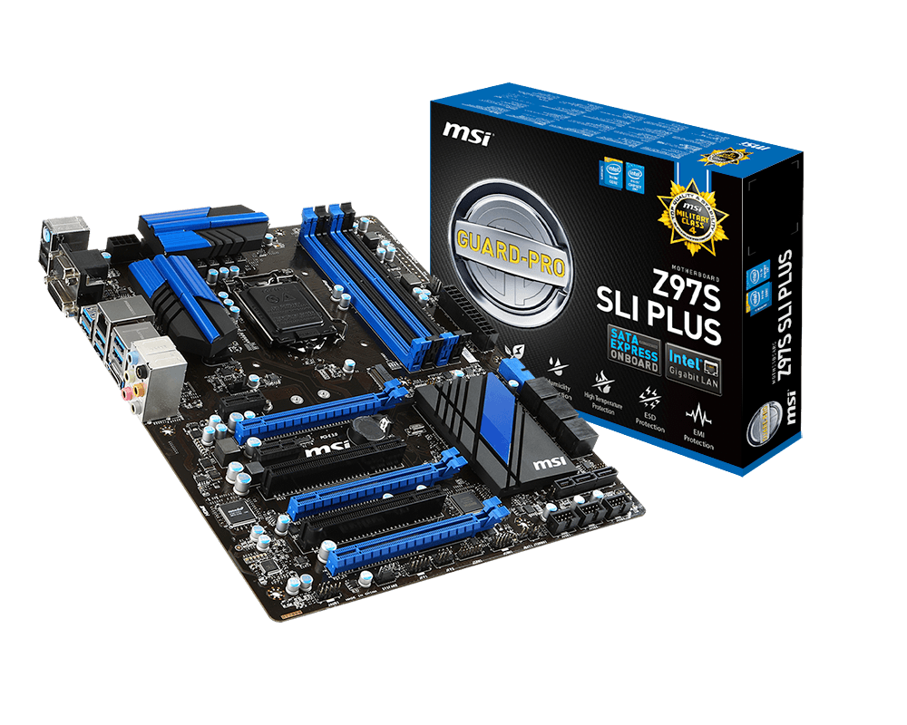 MAINBOARD MSI Z97S SLI PLUS