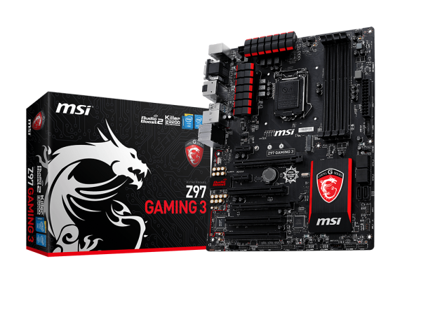 MAINBOARD MSI Z97 GAMING 3