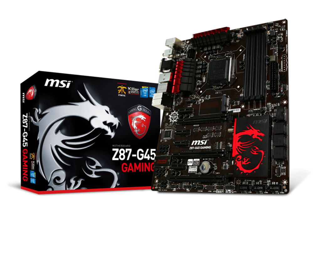 MAINBOARD MSI Z87-G45 GAMING