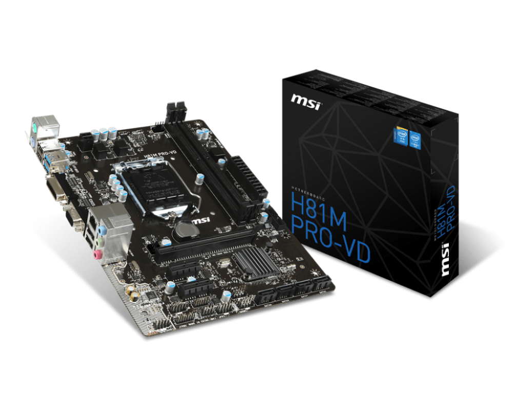 MAINBOARD MSI H81M Pro-VD BootRom