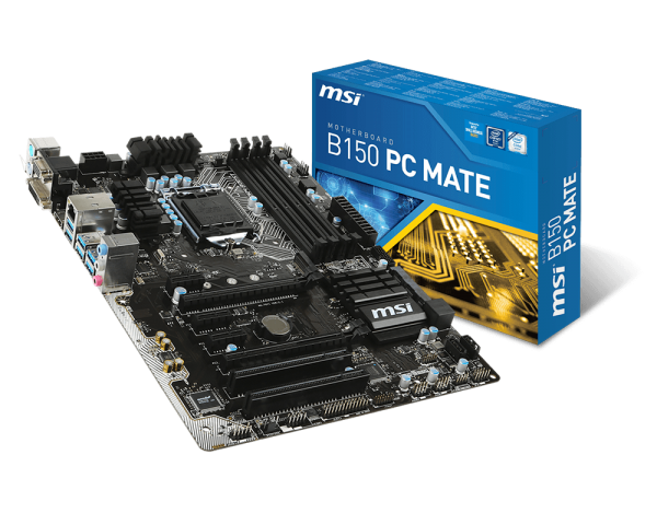 MAINBOARD MSI B150 PC MATE (Pro Series - ATX)