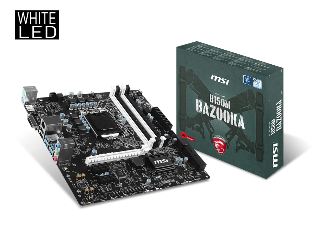 MAINBOARD MSI B150M BAZOOKA → Số 1 cho Game th