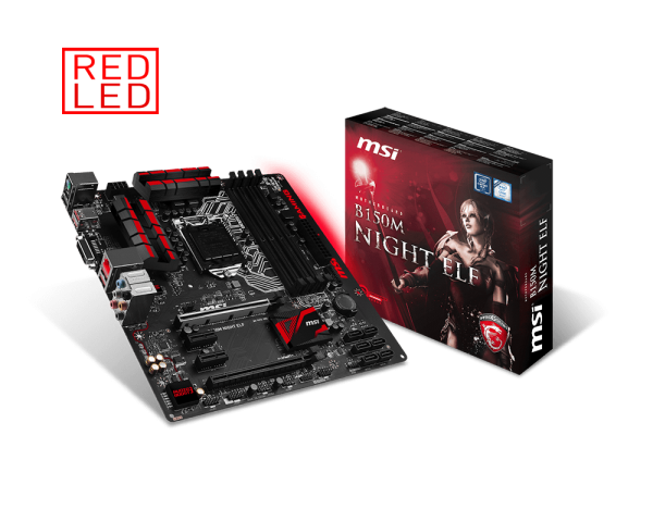 MAINBOARD MSI MSI B150M NIGHT ELF  → Số 1 cho Game thủ