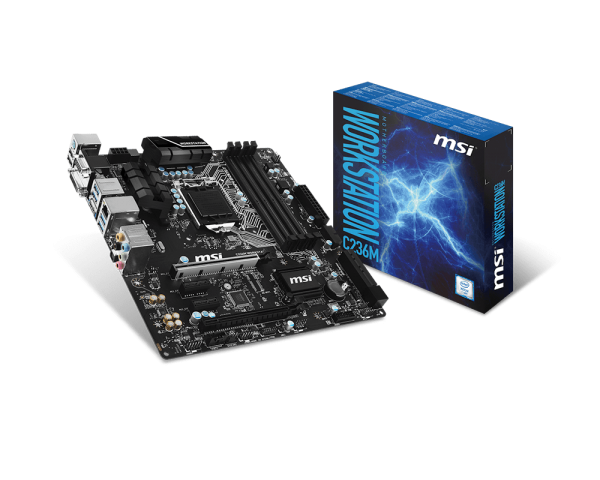 MAINBOARD MSI C236M WORKSTATION Hỗ trợ Xeon E3-12xx V5