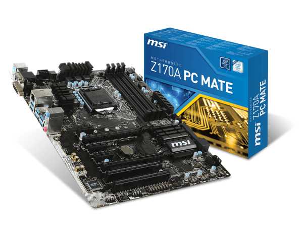 MAINBOARD MSI  Z170A PC MATE (Pro Series)