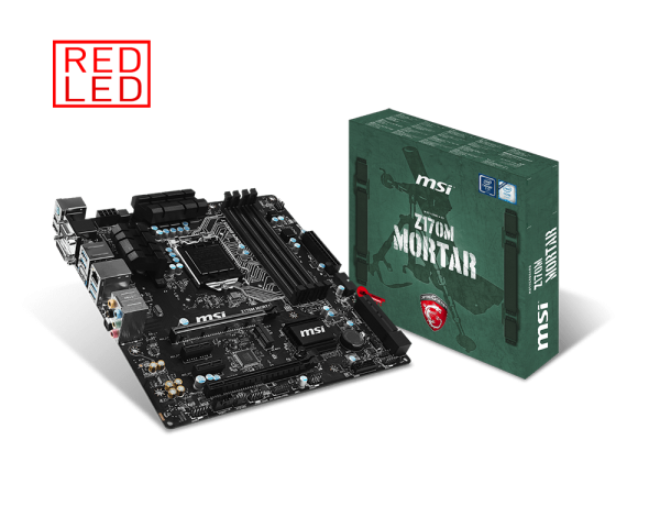 MAINBOARD MSI Z170M MORTAR → Số 1 cho Game th�