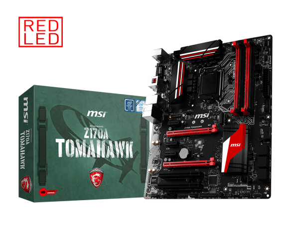 MAINBOARD MSI Z170A TOMAHAWK → Số 1 cho Game t