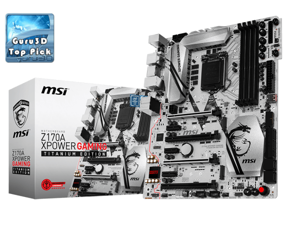 MAINBOARD MSI Z170A XPOWER GAMING TITANIUM EDITION → Số 1 cho Game thủ