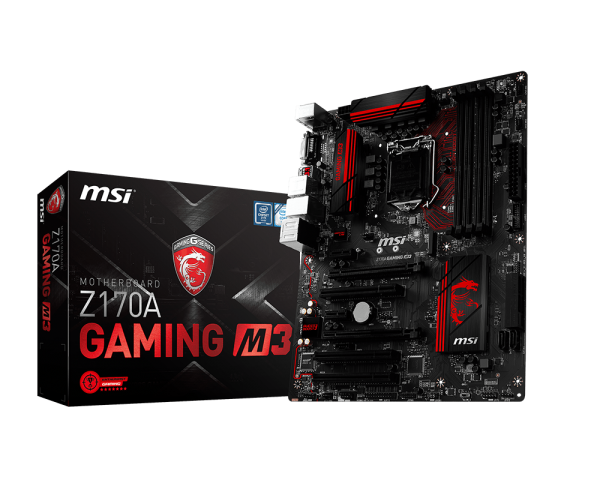 MAINBOARD MSI Z170A GAMING M3 → Số 1 cho Game