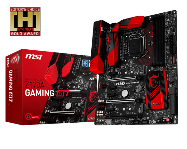 MAINBOARD MSI Z170A GAMING M7 → Số 1 cho Game thủ