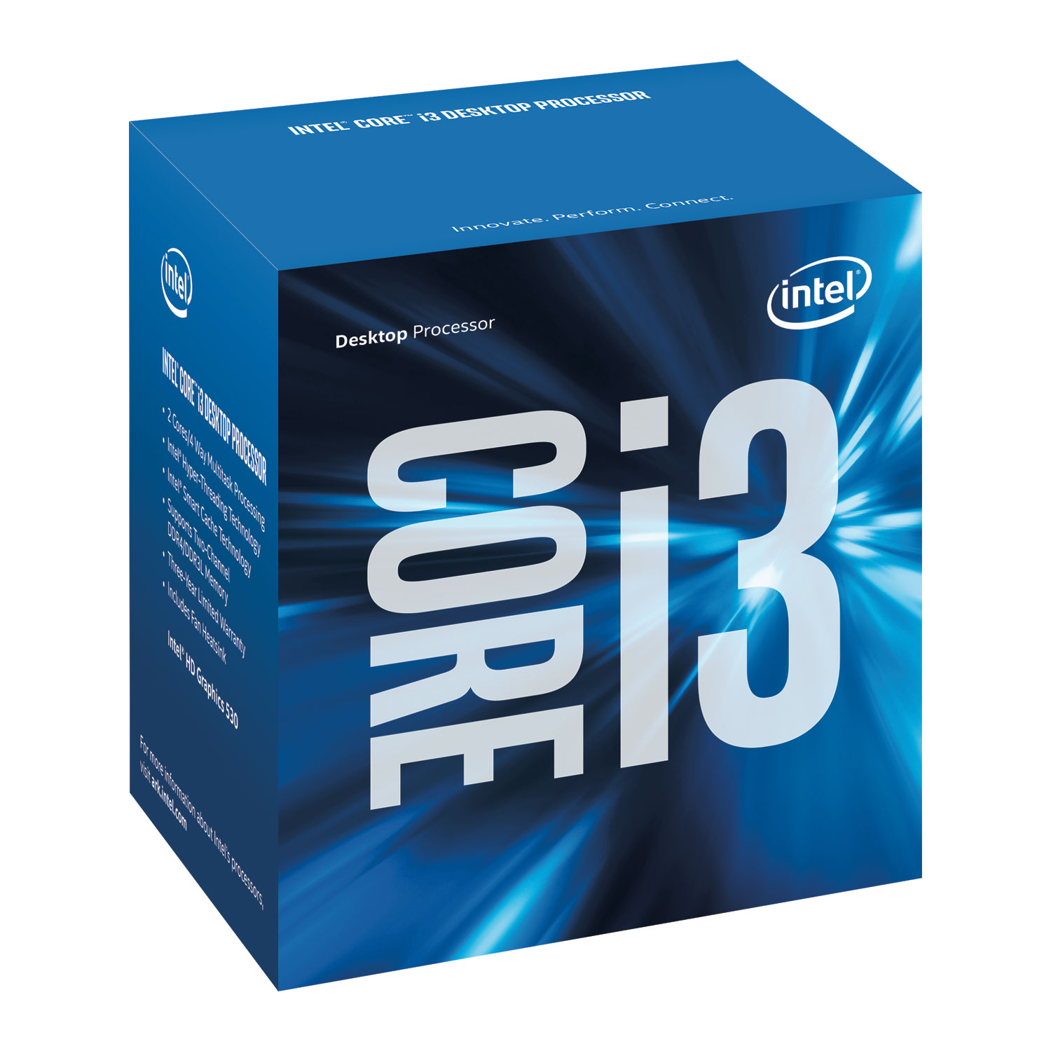 Intel Core  i3 - 6320 3.90GHz / (2/4) / 4MB / Inte