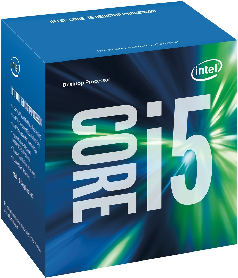 CPU Intel Core i5 6600K 3.5 GHz / 6MB / HD 530 Graphics / Socket 1151 (Skylake) - chưa kèm quạt