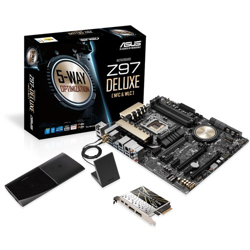 Mainboard ASUS Z97-DELUXE  (NFC&WLC)