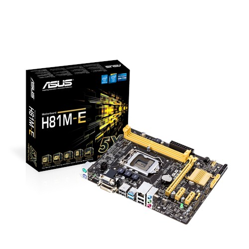 Mainboard ASUS H81M-E