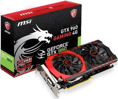 VGA MSI GTX 960 GAMING 4GB GDDR5