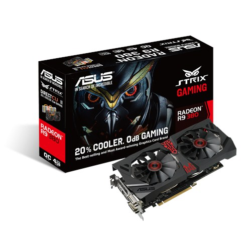 VGA ASUS STRIX-R9380-DC2OC-4GD5-GAMING (256 bits)