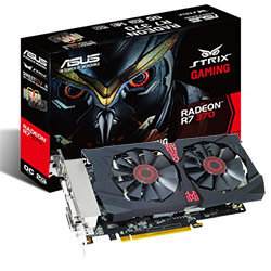 VGA ASUS STRIX R7370-DC2OC-2GD5-GAMING-SAP(256 bits)