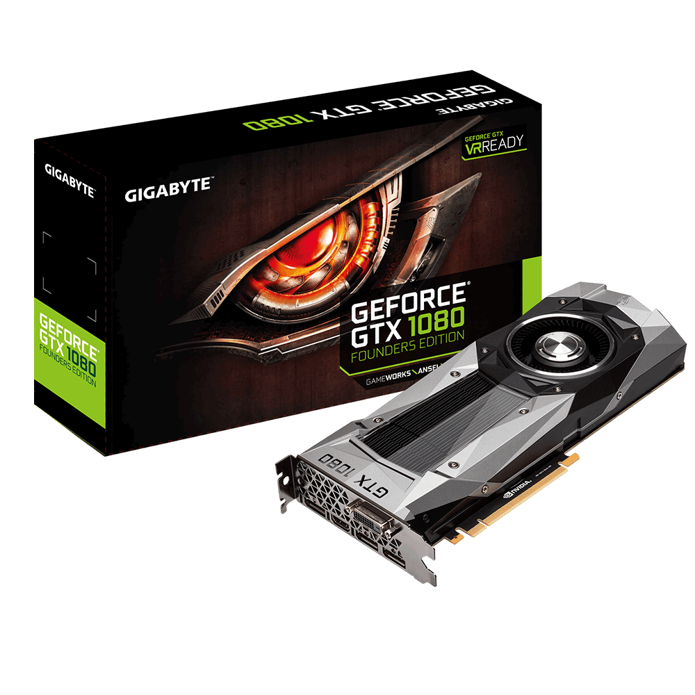VGA GIGABYTE GeForce GTX 1080 Founder Edition (GV-