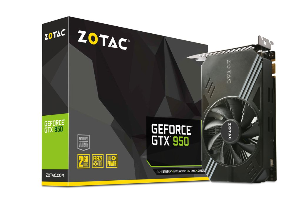 VGA ZOTAC GTX  950 Low Power