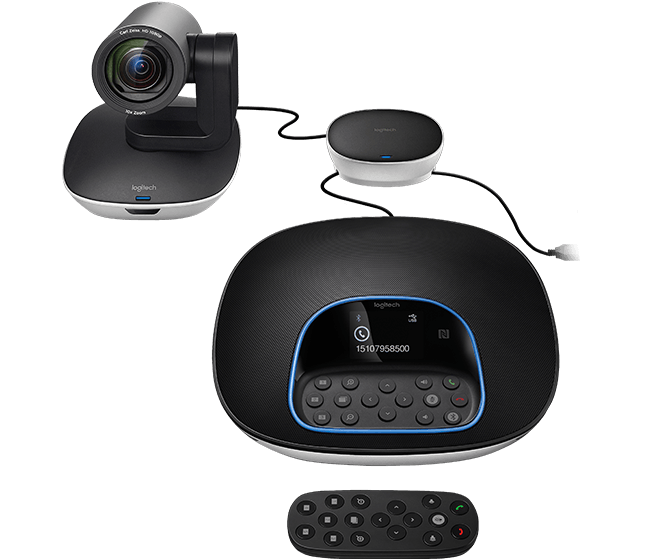Thiết bị hội nghị ConferenceCam Logitech Group Webcam PN 960-001054