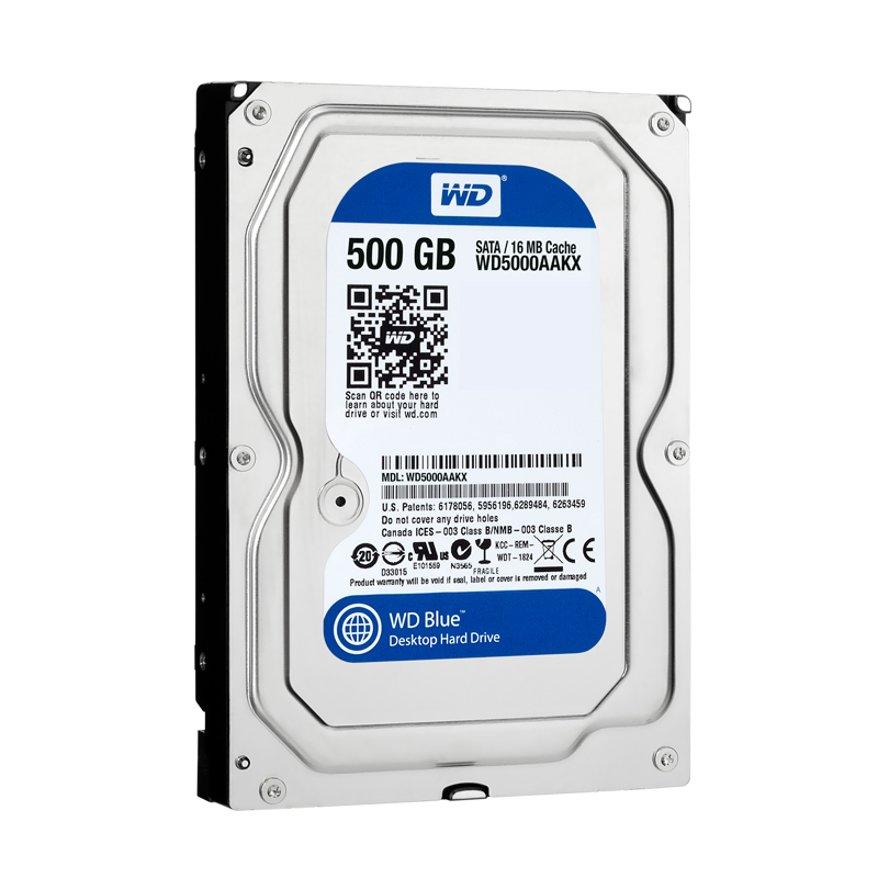 Ổ cứng Western Digital Caviar Blue 500GB 16MB
