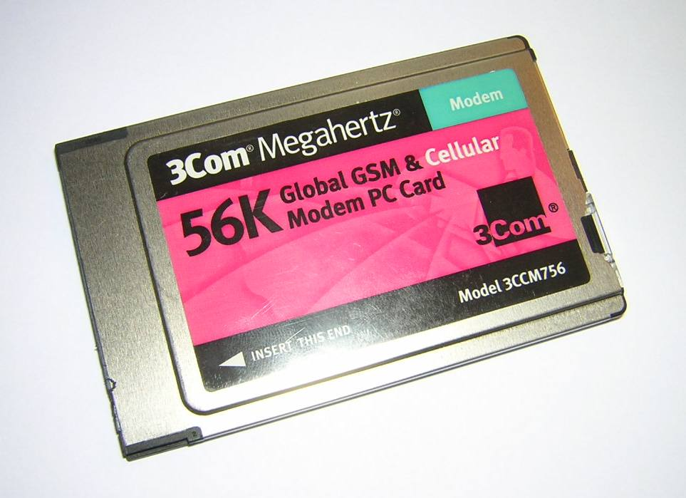 Details about  3Com Megahertz 56K Global GSM + Ce